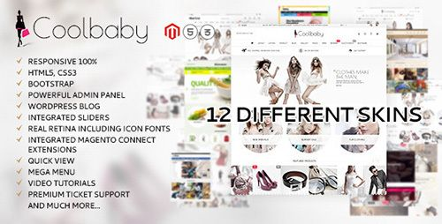 ThemeForest - Coolbaby v1.0 - original Magento theme