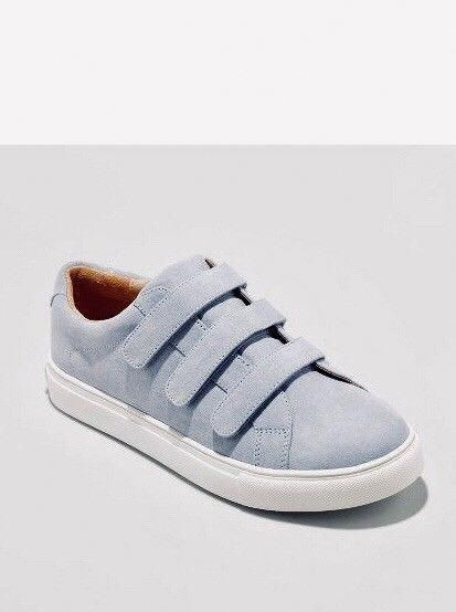 687fd9c9d020 Womens Target a new day Whitney Blue Triple Strap Sneakers 9.5M  fashion   clothing  shoes  accessories  womensshoes  flats  ad (ebay link)   ...