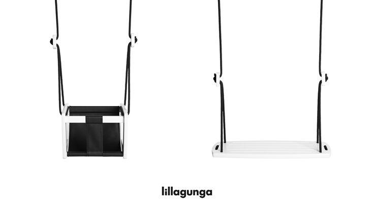 Lillagunga Grand and Toddler black & white.