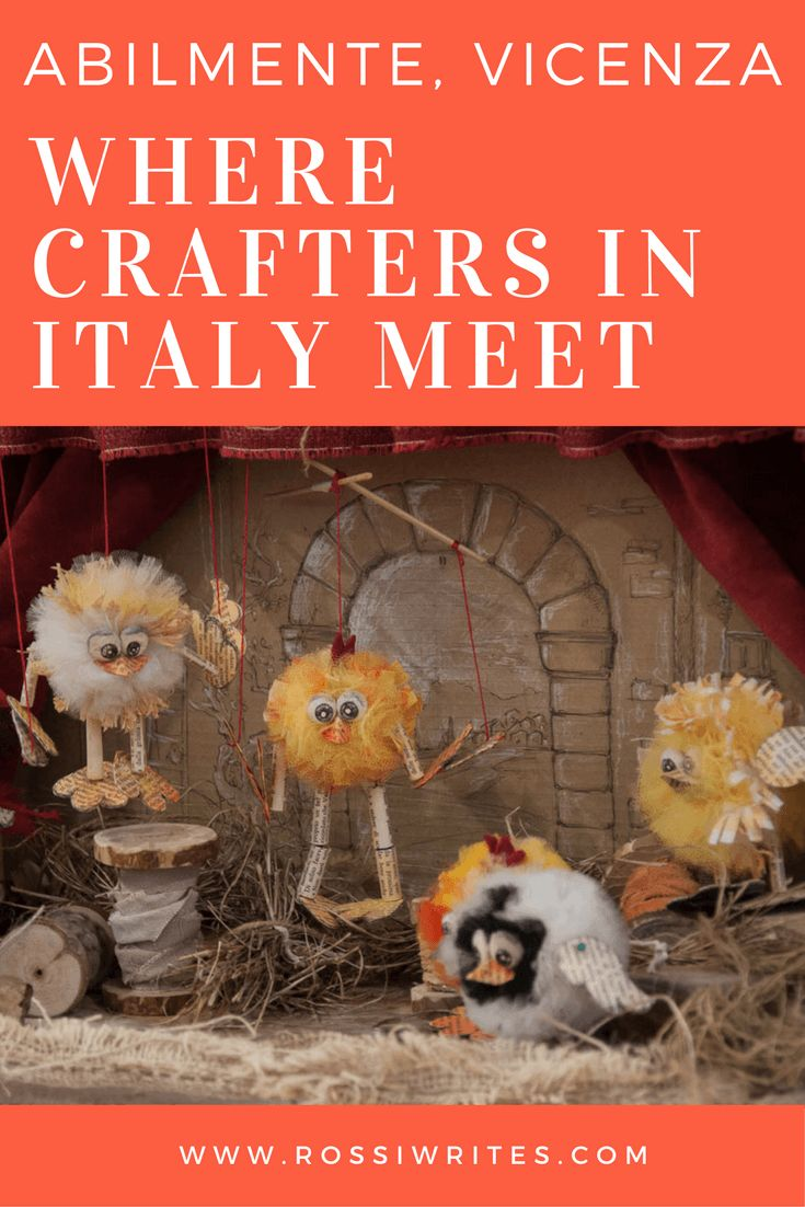 Pin Me - Abilmente, La Festa della Creativita - Where Crafters in Italy Meet - www.rossiwrites.com
