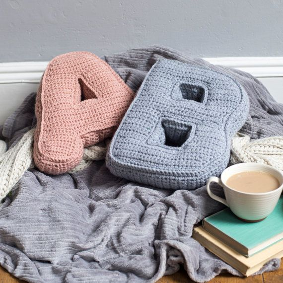 Cosy up these Summer nights with your very own personalised alphabet letter cushion, with the choice of 15 different sumptuous colours.