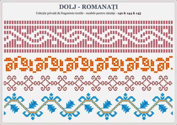 Semne Cusute: traditional Romanian motifs - OLTENIA - Dolj-Roman...
