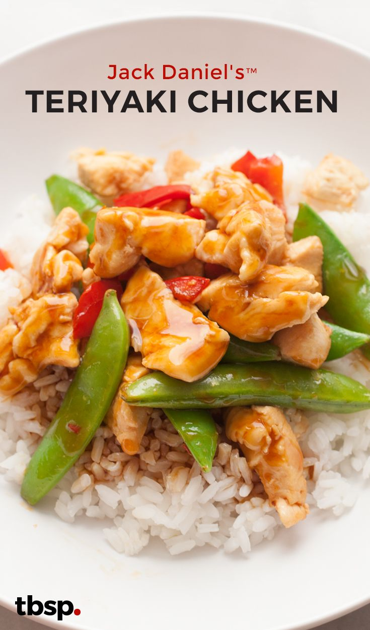 quick chicken and vegetable stir fry tossed with a super-easy and ...