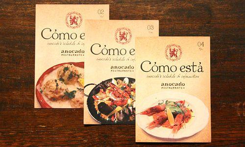 anocado RESTAURANTE|フライヤーデザイン|カフェ飲食店中心のデザイン制作|Alnico Design