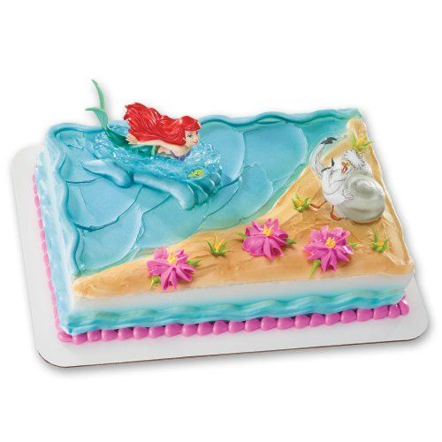 Decopac ariel and scuttle cake decoration set decopac http for Ariel cake decoration