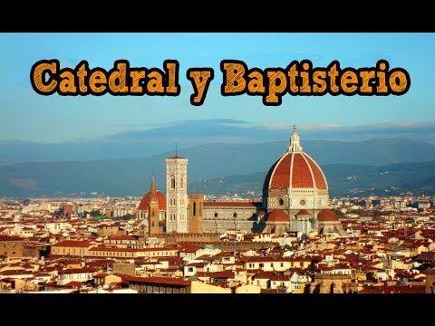 Catedral y Baptisterio de Florencia, Italia