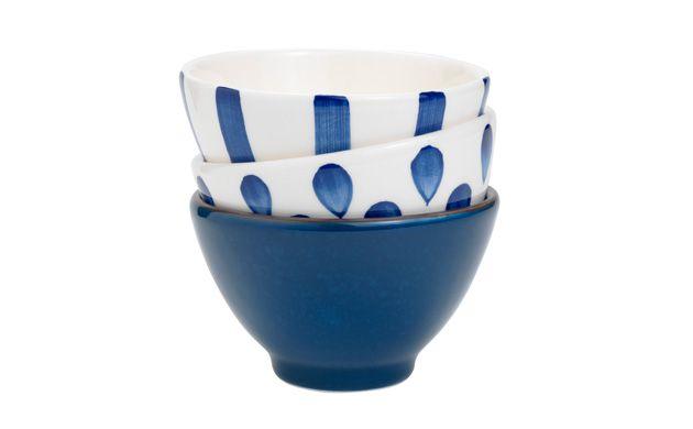 #nautical #decoration★★★ Aqua Print Dip bowl