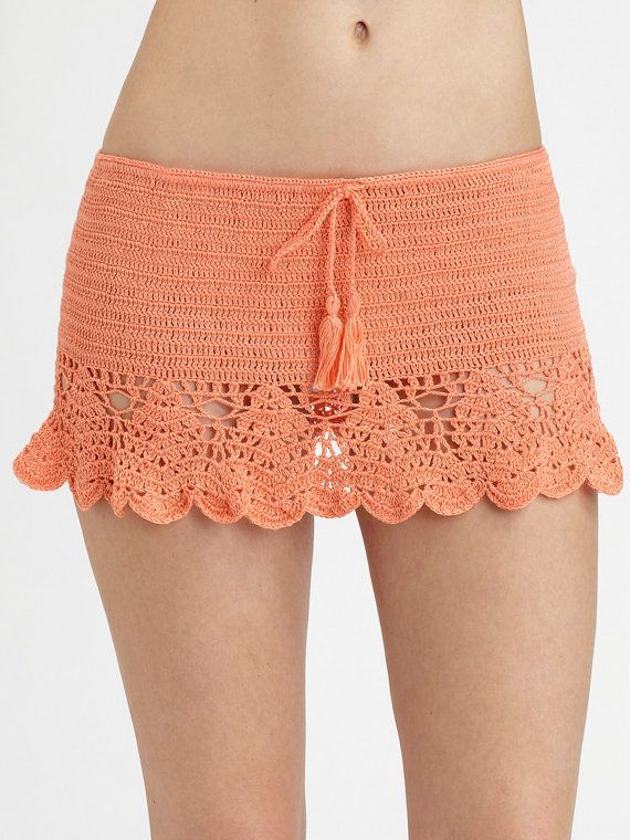 CROCHET FASHION TRENDS exclusive crochet summer beach skirt – made to order