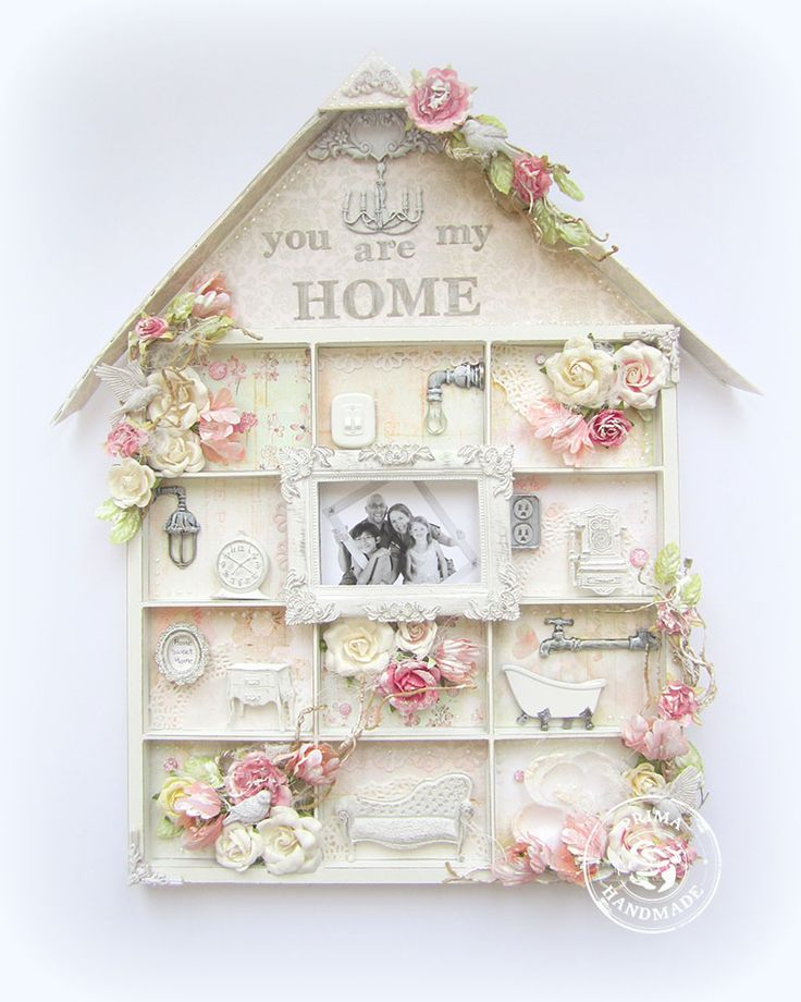 You are My Home- OTP- Prima - Scrapbook.com