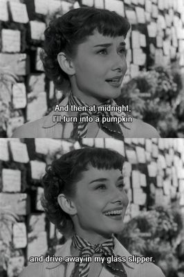 I love Audrey in Roman Holiday! (That's what a kind thought does makes you Believe ...so Thank You again )