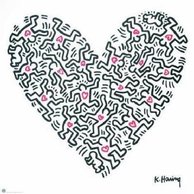 Keith Haring - La conexión entre el arte y la vida -