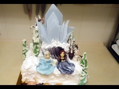 """Торт """"Холодное сердце"""" Эльза и Анна / Frozen. Cake"""