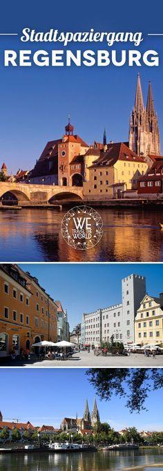 Regensburg Tipps: Welche Regensburg Sehenswürdigkeiten du auf einem Stadtspaziergang nicht verpassen solltest