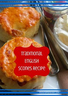 Afternoon tea wouldn't be complete without the addition of English #scones still warm from the oven, paired with jam and clotted cream, and plenty of tea of course!