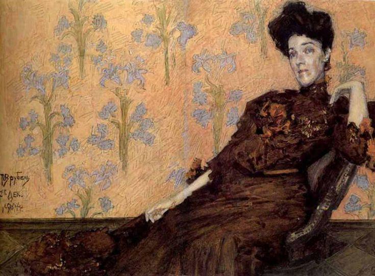 Портрет Забелы-Врубель