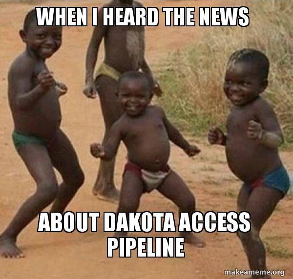 Dancing Black Kids meme #noDAPL