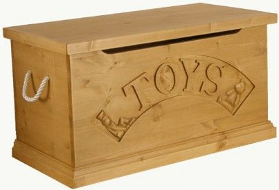 Copy of Hibba Classic Pine Traditional Toy Box as given to #prince #george from the cabinet for his christening
