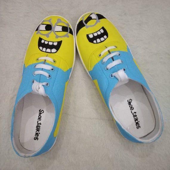 minion shoes converse