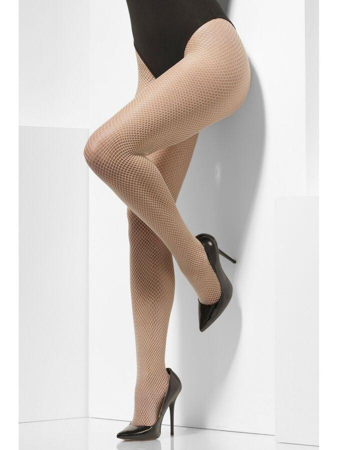 Black Fishnet Tights Big Diamond Ladies Fancy Dress Accessory