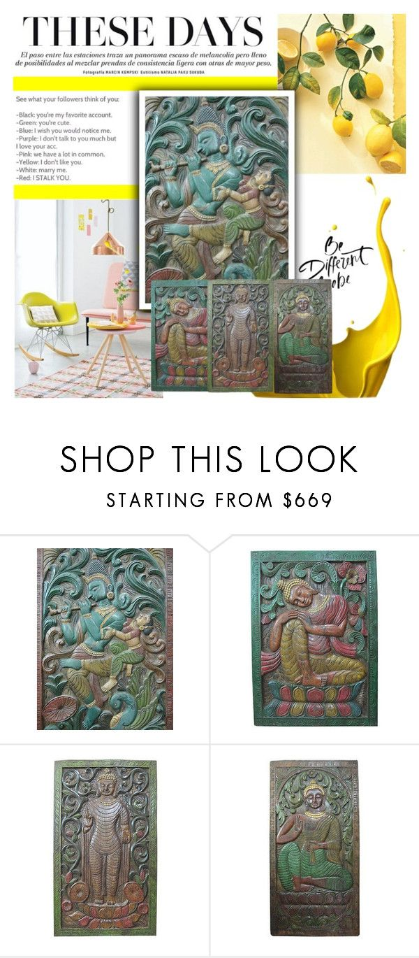 Antique Wall Decor by baydeals on Polyvore featuring vintage  http://stores.ebay.com/mogulgallery/CARVED-DOORS-/_i.html?_fsub=353415319&_sid=3781319&_trksid=p4634.c0.m322