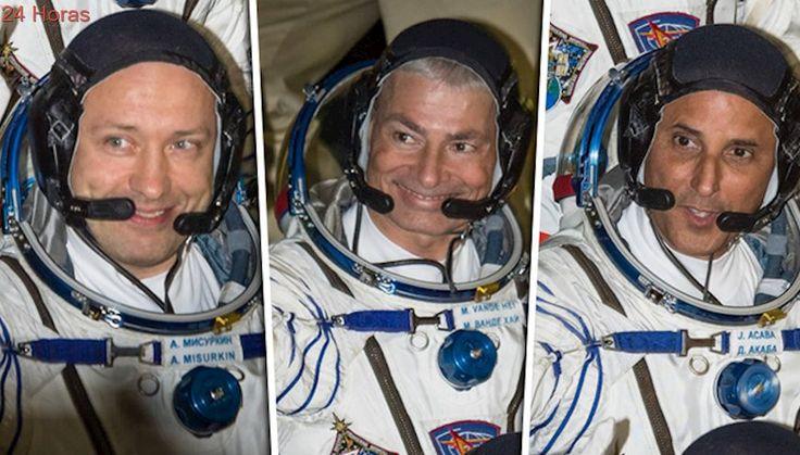 Una nueva misión llega a la Estación Espacial Internacional con tres astronautas