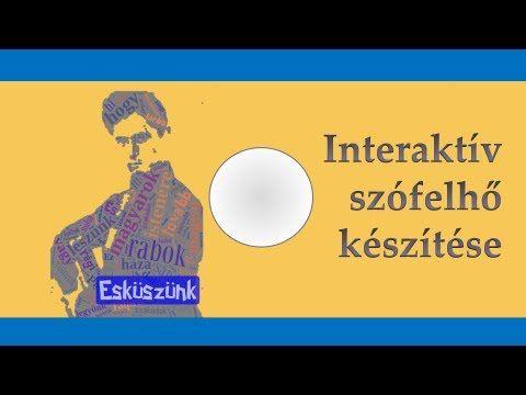 Interaktív szófelhő készítő program - ingyen és extra funkciókkal - YouTube