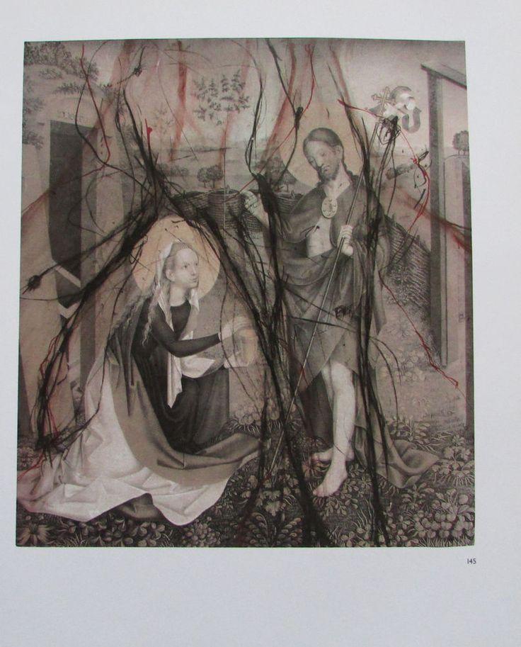 Arnulf Rainer NOLI ME TANGER  Übermalung Kunstdruck Bibel art print | eBay