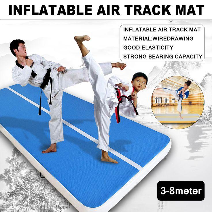 118-314x35x8inch Inflatable Gym Mat Air Tumbling Track Gymnastics Cheerleading Pad