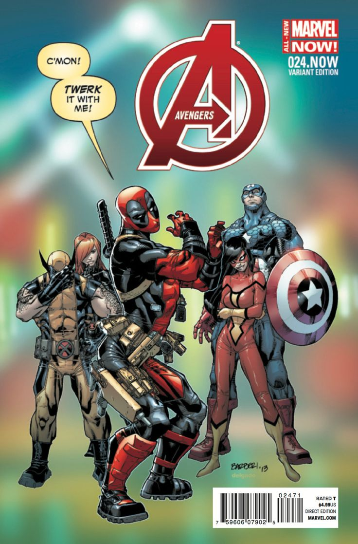 Avengers #24 - Rogue Planet - Deadpool variant (Issue)