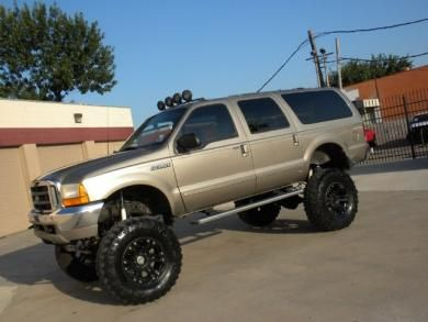 2000 Ford EXCURSION (7.3 DIESEL) LIFTED NAVIGATION CAMERA 4X4