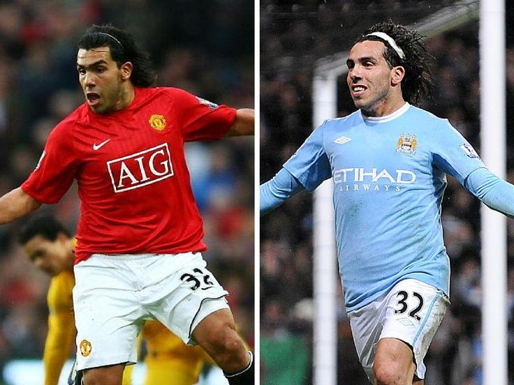 CT32 , ManUtd 2007-2009,  MCFC 2009  #Carlos #Tevez #Manchester #United #Manu #City #MCFC #CT32