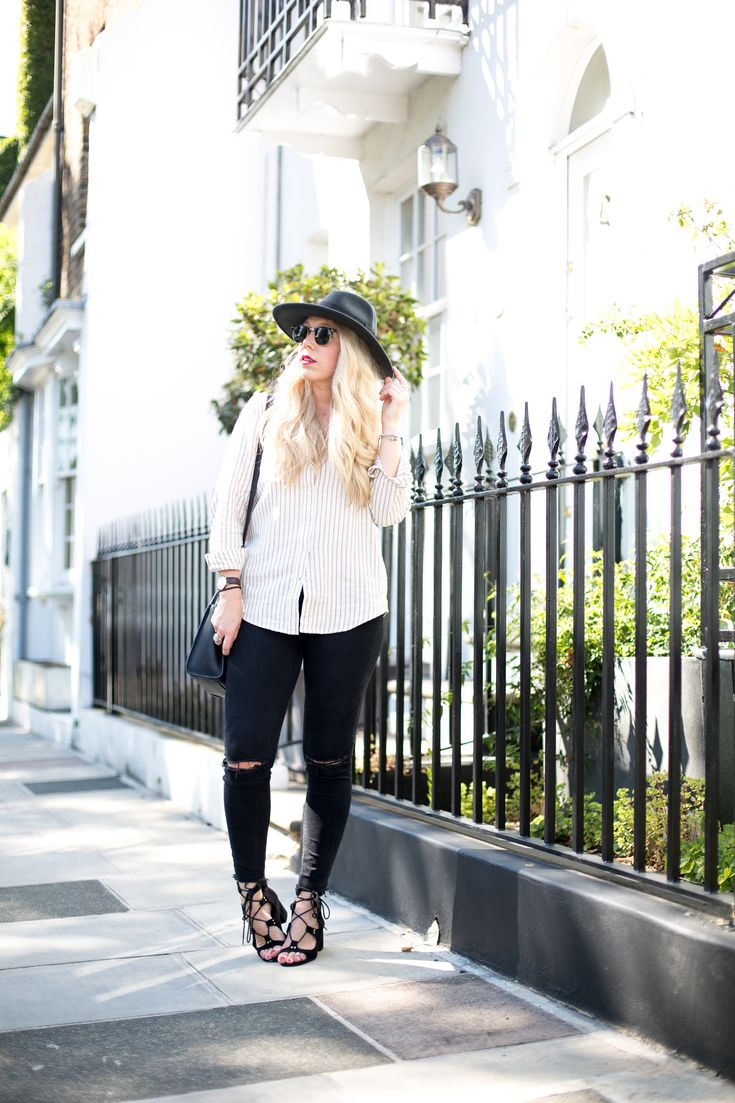Mediamarmalade Black Jeans And Shirt