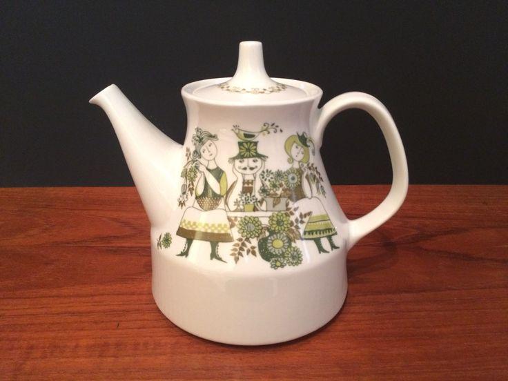 Figgio Flint Norway Large Teapot Market Pattern