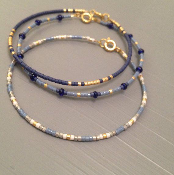 Bracelet d'amitié amitié Bracelet Perles graine par ToccoDiLustro