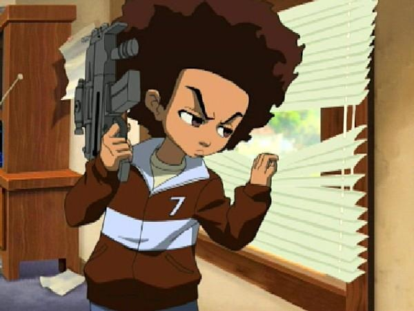 3 Cartoon Characters Always Together : Best boondocks images on pinterest african american