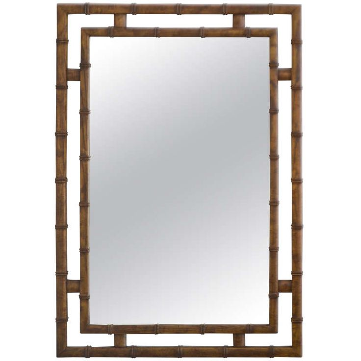 1000 images about chinoiserie asian faux bamboo on for Asian style mirror