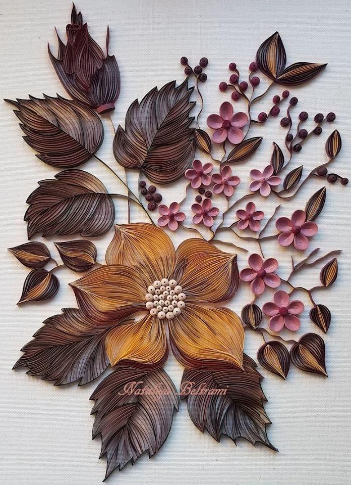 """November"" - Quilled by: Nataliya Beltrami"