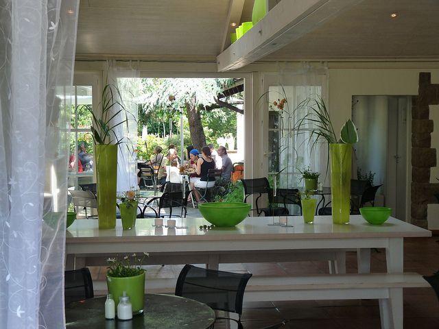 Perfect terrasse arri re blumen caf freiburg Flickr partage de photos