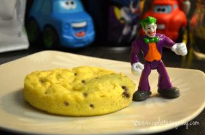 One Minute Chocalate Chip Cookie - TR - Pretty good!