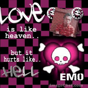 Emo Love Quotes | Emo Qoutes - love-hurts, emo-qoutes, heaven-and-hell, emo-love-qoutes ...