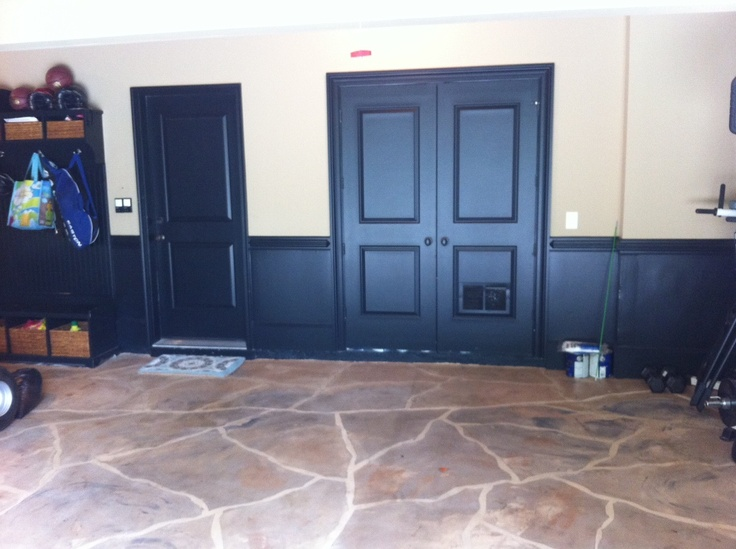 Love The Wainscoting That Is Darker Easier To Cover Up