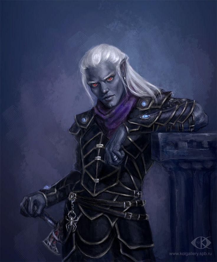 ÉPICO CAOS - Hermanos de Vyhrion 4122a244881cdf7f41ef73927317c638--dark-elf-fantasy-characters