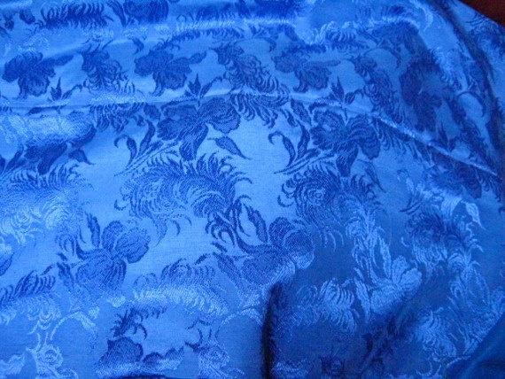 Silken Royal Blue Fabric Silken Royal Blue Fabric by paintventure, $2.00