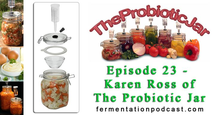 http://media.blubrry.com/fermentationpodcast/p/fermentationpodcast.net/audio/2015/02-15/epi-23-karen-ross-the-probiotic-jar.mp3 Podcast: Play in new window | Download (Duration: 1:20:17 — 27.7MB) I have today on the line Karen Ross, who is the creator of The Probiotic Jar, to talk about health in general and the process of anaerobic fermentation using an air-lock instead of the old-school mason jar method that I've been using. I … Continue reading »