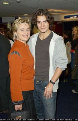 Max Iron's mom, Sinead Cusack, and Henry Cavill