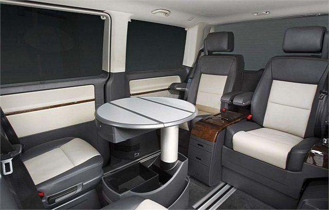 Volkswagen Reveals #Luxury Van For #Limo Clients - #cars