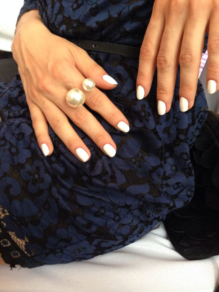 My White off nails (patloami)