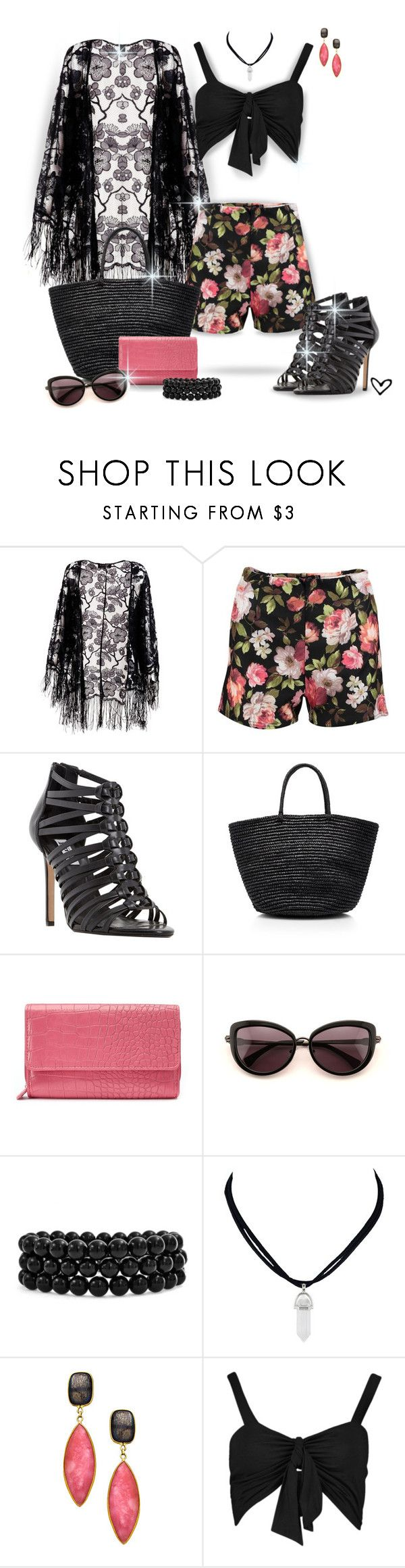 """""""~Boohoo~ Anni Floral Smart Shorts ~"""" by justwanderingon ❤ liked on Polyvore featuring Pussycat, Boohoo, Dune, Sensi Studio, Croft & Barrow, Wildfox, Bling Jewelry, Tresor and Floralshorts"""