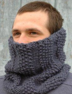 This quick and simple knit cowl pattern is a winter classic. Not only is it a basic cold weather knit, the Steel Gray Cowl is a classic that will never go out of style.