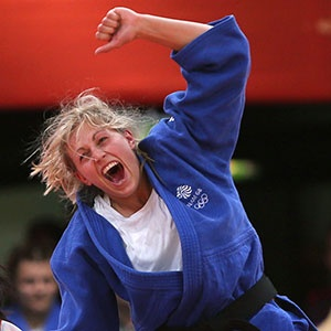 Team GB - Gemma Gibbons - Silver in the Judo.